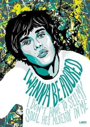 Ian Brown - Stone Roses Art