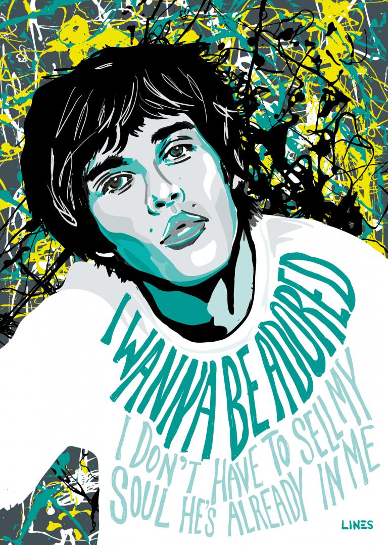 Ian Brown - Stone Roses Art